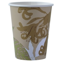 DUNI BIO-DEGRADABLE GREEN PAPER CUP 240ML - PACK OF 50