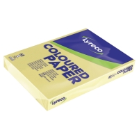 LYRECO PAPER A3 80GSM CANARY - REAM OF 500 SHEETS