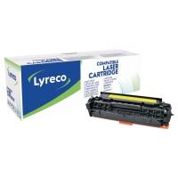 LYRECO COMPATIBLE 304A HP TONER CARTRIDGE CC532A - YELLOW