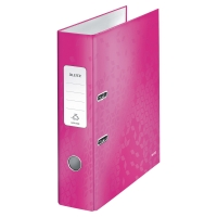 LEITZ 180 WOW PINK A4 LEVER ARCH FILE