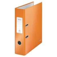 LEITZ 180 WOW ORANGE A4 LEVER ARCH FILE