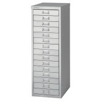 MULTIDRAWER CABINET 15 DRAWER GREY