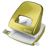 LEITZ NEXXT WOW 2-HOLE PUNCH GREEN