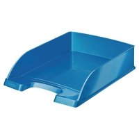 LEITZ WOW LETTER TRAY BLUE