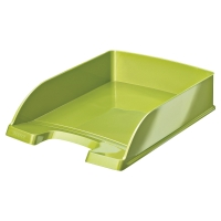 LEITZ WOW LETTER TRAY GREEN