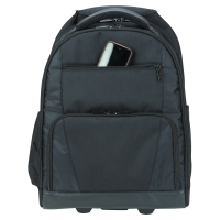 """Targus Rolling Laptop Computer Backpack on wheels fits 15.6"""" Laptops"""