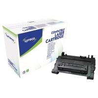 LYRECO COMPATIBLE 90A HP LASER CARTRIDGE CE390A - BLACK