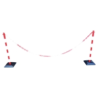 PLASTIC POSTS AND ACCESSORIES KIT RED/WHITE