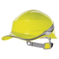 DELTAPLUS BASEBALL DIAMOND SAFETY HELMET YELLOW