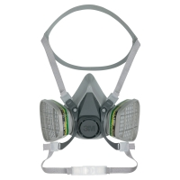 3M 6200 REUSABLE HALF FACE MASK RESPIRATOR