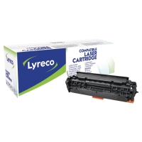 LYRECO COMPATIBLE 305A HP CE410A LASERJET TONER CARTRIDGE BLACK