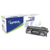 LYRECO COMPATIBLE 80A HP LASERJET TONER CARTRIDGE  CF280A - BLACK