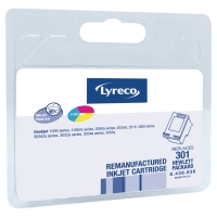 LYRECO INKJET CART COMP HP301 CH562EE COLOUR