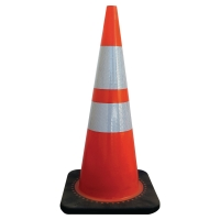 VISO CONE CLASS 2 WITH RUBBER BASE 70CM