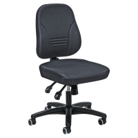 YOUNICO SYNCHRON MECHANISM MEDIUM BACK CHAIR CHARCOAL
