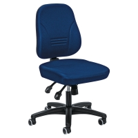 YOUNICO SYNCHRON MECHANISM MEDIUM BACK CHAIR BLUE
