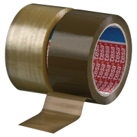 TESA 4280 CARTON SEALING PP TAPE 50*66M BROWN PACK OF 6