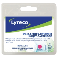 LYRECO INKJET COMPATIBLE CARTRIDGE HP933XL MAGENTA
