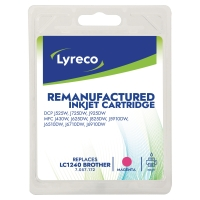 LYRECO INKJET COMPATIBLE CARTRIDGE BROTHER LC1240 MAGENTA