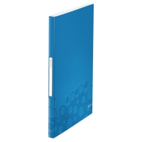LEITZ WOW DISPLAY BOOK POLYPROPYLENE 40 POCKET A4 BLUE