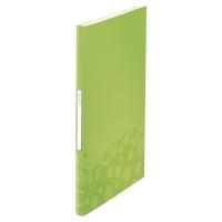 LEITZ WOW DISPLAY BOOK POLYPROPYLENE 40 POCKET A4 GREEN