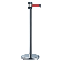 VISO CONTROLPOST RS-2-SR-RE METALLIC WITH STRAP RED 2 METRE