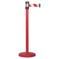 VISO CONTROLPOST RS-2-RO-RB RED WITH STRAP RED/WHITE 2 METRE