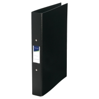 LYRECO BLACK A4 2 O-RING BINDER 40MM