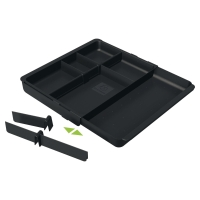 EXACOMPTA 316014D DRAWER ORGANISER BLACK