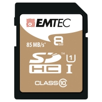 EMTEC GOLD SDHC MEMORY CARD 150X 8GB