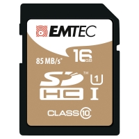 EMTEC GOLD SDHC MEMORY CARD 150X 16GB