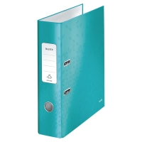 Leitz 180° WOW A4 Lever Arch File Ice Blue