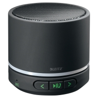 LEITZ COMPLETE PORTABLE MINI BLUETOOTH SPEAKER BLACK