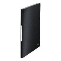 LEITZ STYLE DISPLAY BOOK POLYPROPYLENE A4 20 POCKET BLACK