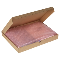 FLAT POST BOX S/WALL 215X155X50 BRW PACK OF 50
