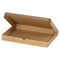 FLAT POST BOX S/WALL 305X220X25 BROWN PACK OF 50