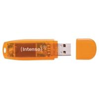 INTENSO RAINBOW LINE USB 2.0 64GB ORANGE