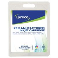 LYRECO INKJET COMPATIBLE CANON CLI-551 CMY