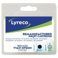 LYRECO INKJET COMPATIBLE EPSON T1621 BLACK
