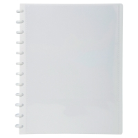 EXACOMPTA DISPLAY BOOK PERSONAL 30 REMOVABLE POCKETS WHITE