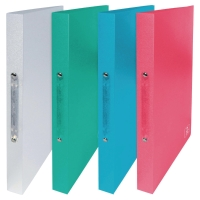 ELBA 2ND LIFE 2 RING BINDER PP 20MM ASSORTED PACK 4