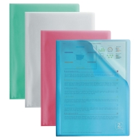 ELBA 2ND LIFE DISPLAYBOOK 40POCKET ASSORTED - PACK OF 4