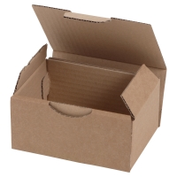 POSTAL BOX ECO 200X100X100MM BROWN PACK 50