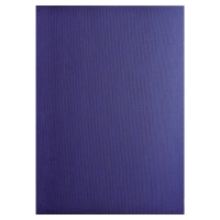 PK100 EXACOMPTA BIND COVER TEXTILE DARK BLUE