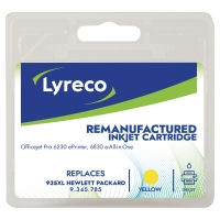 LYRECO COMPATIBLE INKJET CARTRIDGE HP C2P26A YLLW