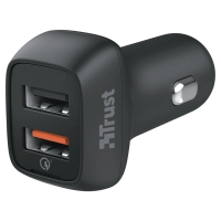 20W Fast Dual Car Charger for phones and tablets