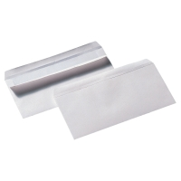 LYRECO WHITE DL SELF SEAL PLAIN ENVELOPES 90GSM - BOX OF 500