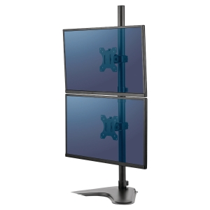 Fellowes Professional Series™ Freestanding Dual Stacking Monitor Arm