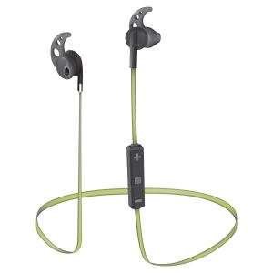 Sila Bluetooth Wireless Earphones - black/lime