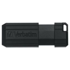Verbatim 5 Pack of Pinstripe 64GB USB2.0 Drives Black